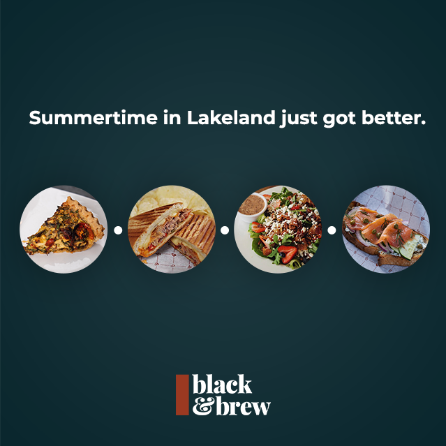 New Items To Try At Black & Brew This Summer