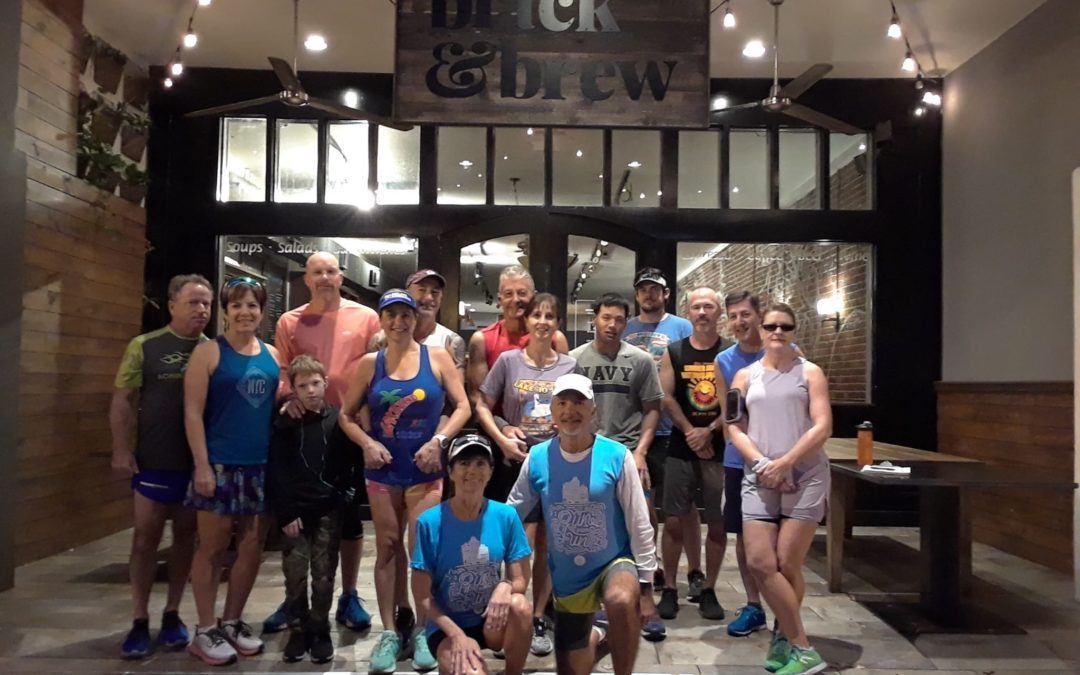 Saturday Morning Fun Run at Black & Brew